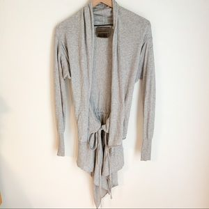 Anthropologie Guinevere Tie Front Cardigan